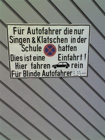 Schild_Autofahrer
